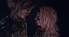 Romantic zombies. Stock Footage