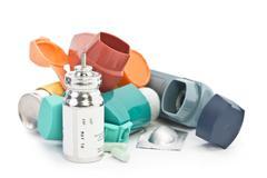 Asthma Treatment Stock Photos