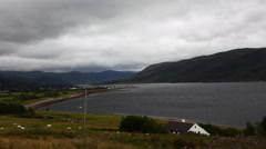 4K UltraHD Timelapse view of Ullapool, Scotland Stock Footage