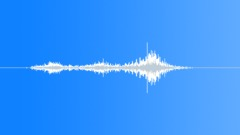 Foley Various Foley Airplane Propeller Stop or Metal Desk on Wheels Slow Twist Sound Effect