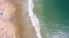 Crescent Bay, Laguna Beach, California Stock Footage