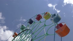 Ferris wheel in the summer Park Arkistovideo