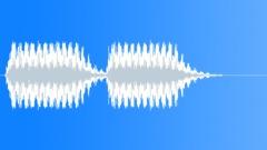 Sound Design Beeps Beep Buzz Metallic Deep x2 Sound Effect