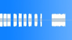 Sound Design Beeps Beeps Buzz Dull Nasal Hi Many Sound Effect