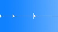 Bells Bell Hand Medium Tone Hit Thoughtful x3 Birds BG Sound Effect