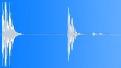 Foley Body Fall Wood Thud Bounce Hollow x2 Sound Effect