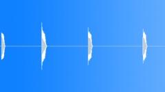 Metal Drops Bowling Ball Drops Series x6 Diamond Metal Plate Surface Heavy Loud Sound Effect