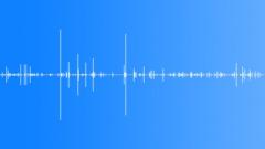 Foley Bricks Rattle Metal Moves Weak Sound Effect