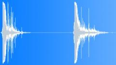 Foley Various Bullet Hit Wood Breaking Shattering Debris Close POV Sound Effect
