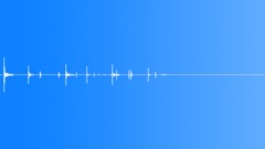 Foley Buttons Drop Floor Scatter Sound Effect