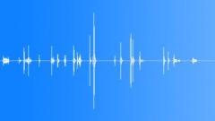 Foley CD Cases Sort Stack Hasty Sound Effect