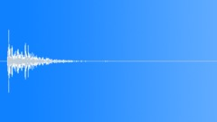 Foley Coaster Glass Down Clunk Muffled Sound Effect