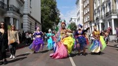 Notting Hill Carnival, 2016, London. Stock Footage