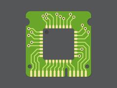 Random-access memory Stock Illustration