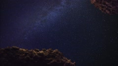 Milky Way Stock Footage