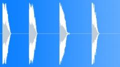 Metal Drops Diamond Plate Big Drops Series Concrete Heavy Bounces Bright Ring M Sound Effect