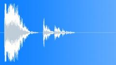 Metal Drops Diamond Plate Big Drop Single Concrete Crash Rattle Close Interior Sound Effect