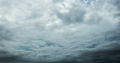 Time lapse of storm clouds moving fast Stock Footage