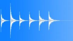Foley Door Wood Knock Serious x6 Sound Effect
