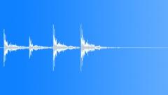 Foley Door Wood Knock Urgent x4 Sound Effect