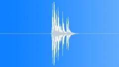 Wood Drops Impact Interior Wood Fall Into Bathroom Sink Sound Effect