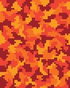 Camouflage pattern, vector Stock Illustration