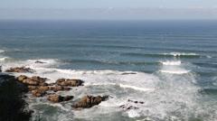In south africa   sky    ocean Stock Footage
