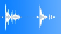 Metal Drops Eleven Rims One Pile:Drop Concrete x2 Hard Loud Bangs Rims Rattles Sound Effect