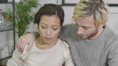 4K Married couple are concerned about their finances Arkistovideo