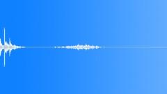 Foley Courtroom Gavel Wood Pick Up Scrape Sound Effect