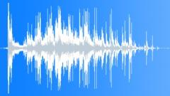 Foley Various Foley Glass Brick Shatter and Spill Slide on Wood Sound Effect
