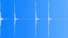 Guns Gun Shot Light Metal Pole Ting Resonate Light Echo x4 Sound Effect