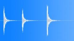 Construction Tools Hand Hammer Hits 3 Wood 2X4 Medium Sound Effect