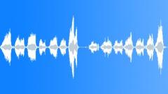 Foley Various Hammock Rope Rough Creaks Bend Swing Low Groan Series x 2 Sound Effect