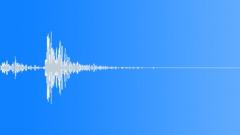 Foley Plastic Hit Plastic Dull Hollow Flex Sound Effect