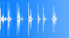 Wood Hits Impacts Hit Wood Stool Break Multiple Sound Effect