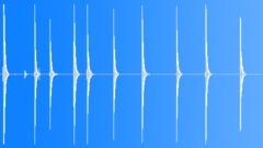 Foley Hits Various Cut Meat Chopping Table Board Plank Slams Loud Knife Slight Sound Effect