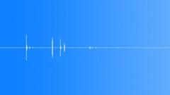 Sports Hockey Puck Big Drop Flip Reverb 2 Sound Effect