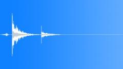 Sports Hockey Shot Wrist Hit Bank Around Glass 6 Sound Effect