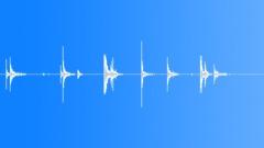 Foley Hockey Sticks Blades Hit Ice Swipe 1 Sound Effect