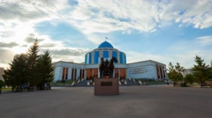 Military-Historical Museum of the Armed Forces in Astana Stock Footage