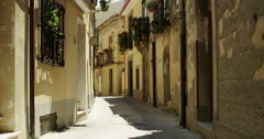 The old Italian village Badolato in Calabria. Stock Footage