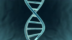 DNA Helix Animation Stock Footage