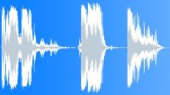 Foley Various Foley Metal Crunch x3 Hard Crippling Bends Sound Effect