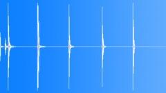 Foley Metal Jingles Pipe Drop Wobble Series x5 Impact Ground Vibrate Very Long Sound Effect
