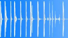 Metal Drops Light Metal Pieces Throw Drop Smooth Metallic Structure Lots Debris Sound Effect