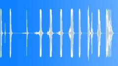 Metal Drops Series x 11 Heavy Bar Drag Drop Bangs Hard Rattle Bounce Debris Spr Sound Effect