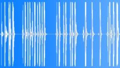 Metal Drops Series x18 Platinum Plates Large Size Grab Handle Drop Bangs Hard H Sound Effect