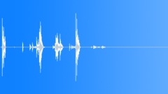 Metal Drops Small Piece Light Drop Series x4 Careful Fall Short Distance Weak C Sound Effect