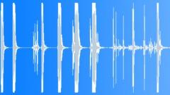 Metal Drops Two Bars Girder Round Bar Drag Drop Series x 7 Hit Hard Metal Struc Sound Effect